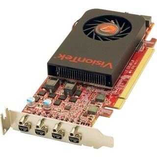 """VisionTek 900798 Visiontek Radeon HD 7750 Graphic Card - 800 MHz Core - 2 GB GDDR5 - PCI Express 3.0 x16 - Single Slot Space"