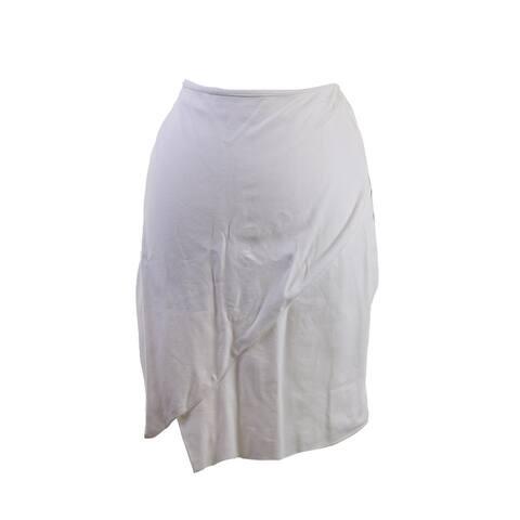Bar Iii White Envelope Pencil Skirt XL
