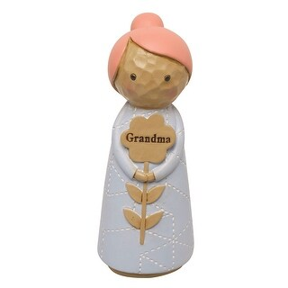 "Japanese Kokeshi Dolls - Grandma - 4.5"" High"