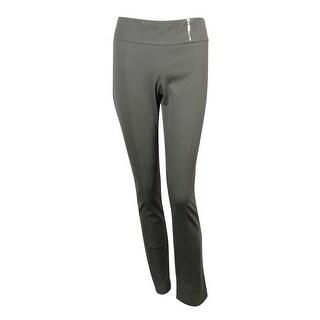 Alfani Women's Slim Leg Tummy Control Stretch Pants