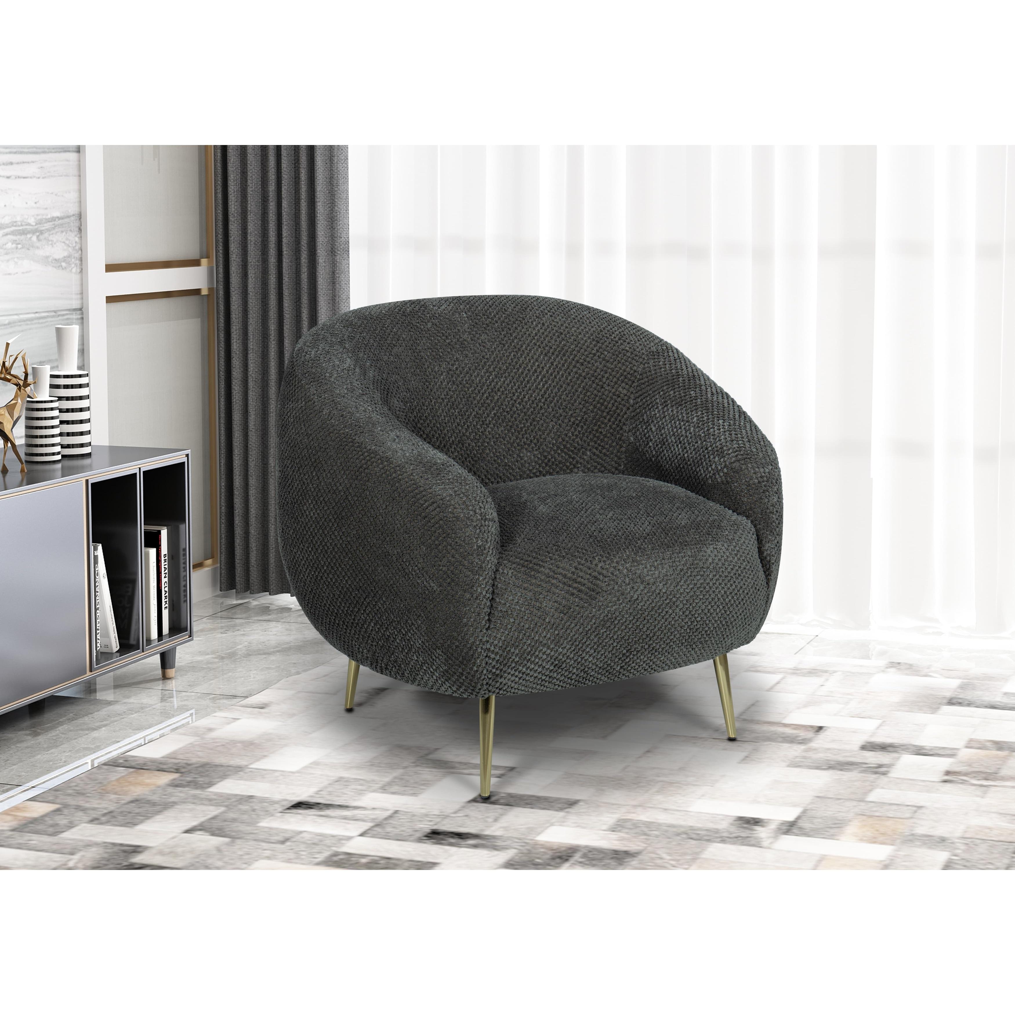 Ella Fatty Boy Lounge Arm Chair Charcoal Gray Overstock 32070941