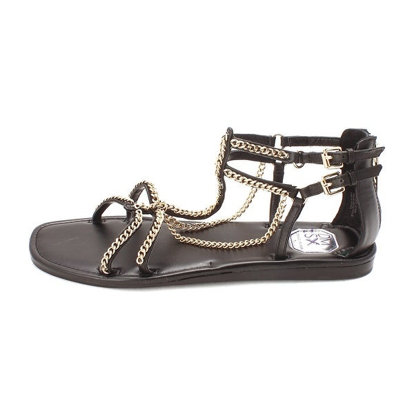 Donald J Pliner Womens Carri Open Toe Casual Ankle Strap Sandals - 10
