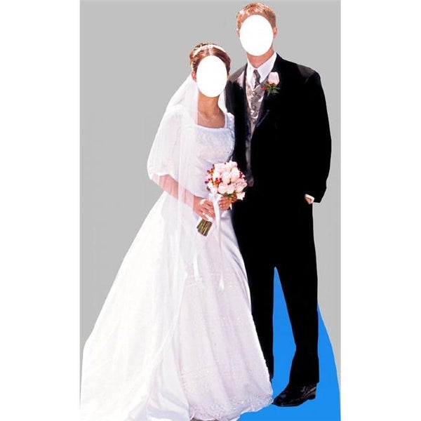 Bride And Groom Stand-In Life-Size Cardboard Stand-Up