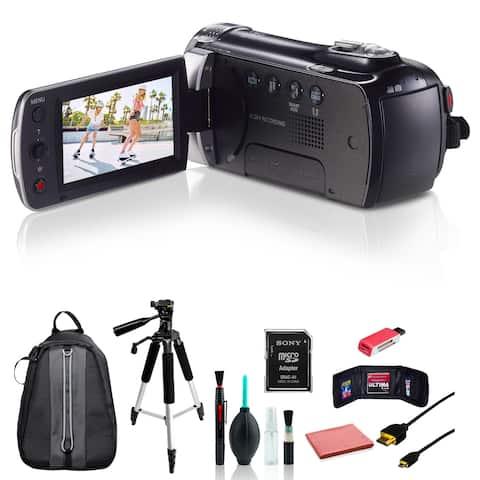 Samsung HMX-F90 Camcorder w/ 8pc Accessories Bundle