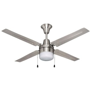 """Craftmade UB48 Urbana 48"""" 4 Blade Hanging Indoor Ceiling Fan with Reversible Motor, Blades and Light Kit"""