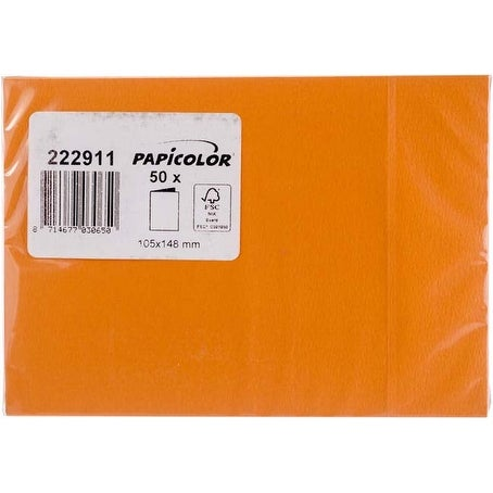Orange - Papicolor A6 Folded Cards 50/Pkg