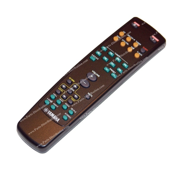 OEM Yamaha Remote Control Originally Supplied With: HTR5920, HTR-5920, HTR5920SL, HTR-5920SL, YHT470, YHT-470