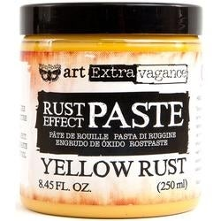 Yellow - Finnabair Art Extravagence Rust Effect Paste 8.45oz