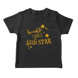 Twinkle Twinkle Little Star Girl's T-shirt (More options available)