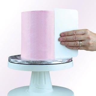 Plain Edge Plastic Cake Side Scraper Tall-
