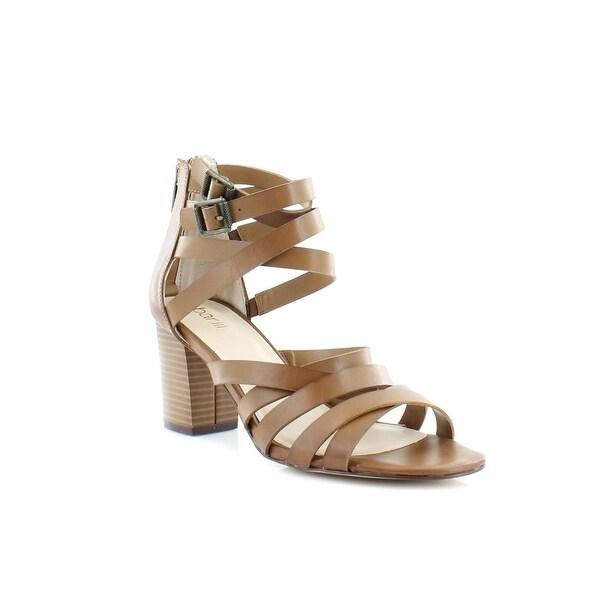 Bar III Kosta Women's Heels Dark Tan - 8