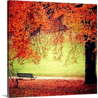 """Happy Thanksgiving"" Canvas Wall Art"