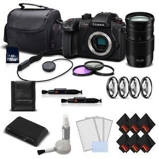 Panasonic Lumix DC-GH5S Mirrorless Camera Intl Version + Panasonic Lumix G Vario 100-300mm Lens Kit Bundle
