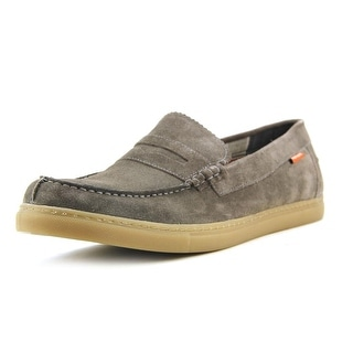 Hush Puppies Walter Thorpe IIV W Moc Toe Suede Loafer