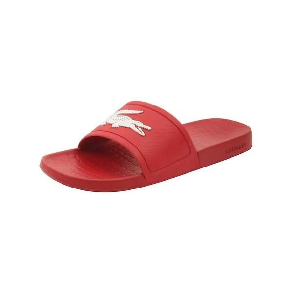 37776972b Shop Lacoste Men s Fraisier 318 1 P Slide Sandal - Free Shipping On ...