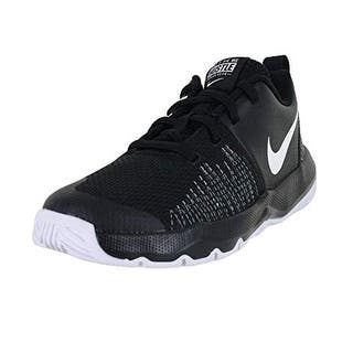 pretty nice 8c085 37958 Nike Boy s Team Hustle Quick (Ps) Pre-School Shoe Black White