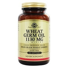 Solgar Wheat Germ Oil 1130 mg (100 Softgels)