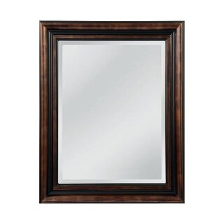 "Mirror Masters MW4105B Gastonia 45"" Rectangular Mirror with Decorative Frame"