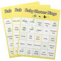 Bingo Cards 24/Pkg-Baby Shower