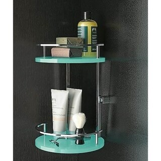 Nameeks 4583 Toscanaluce Collection Wall Mounted Shower Basket (Option: Green)