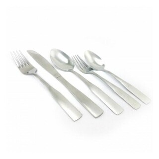 Gibson Home 69937.61 Abbeville 61-Piece Flatware Set With Wire Caddy