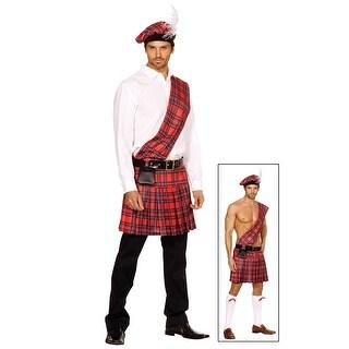 Men's Scottish Kilt Costume
