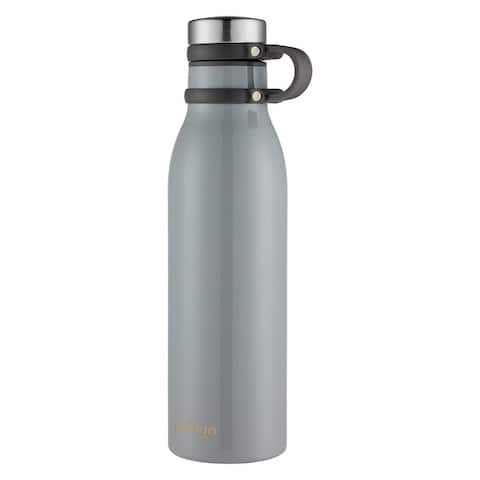 Contigo 2045472 Couture Vaccuum Insulated Stainless 20oz Water Bottle, Gray