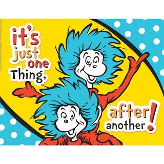 Dr Seuss One Thing After Another