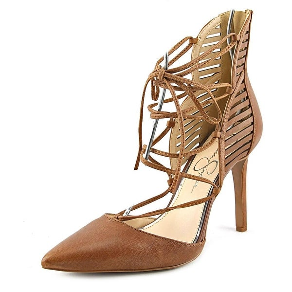Jessica Simpson Cynessa Women  Pointed Toe Leather  Heels