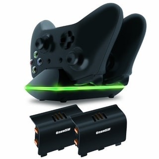 DREAMGEAR DRMXB16603B dreamGEAR Xbox One Dual Charging Dock