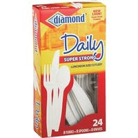 Diamond Combo Plastic Cutlery