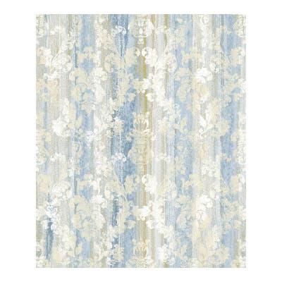 Camilia Blue Damask Wallpaper - 21 x 396 x 0.025