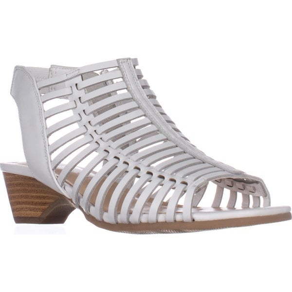 Bella Vita Pacey Gladiator Slingback Sandals, White - 6.5 us