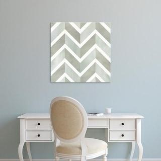 Easy Art Prints Victoria Borges's 'Seaglass Tiles IV' Premium Canvas Art