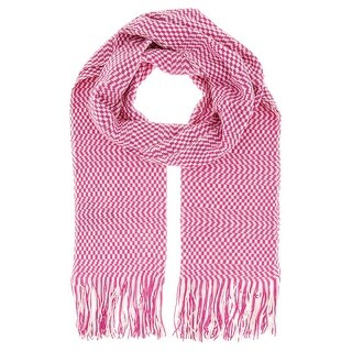 Missoni D4904 Wool Blend Crochet Knit Scarf