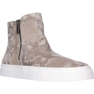 Lucky Brand Bayleah High-Top Fashion Sneakers, Grout