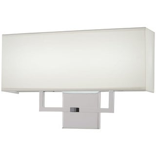 """Kovacs P472-077-L 11"""" Tall Integrated LED Wall Sconce with Rectangular Fabric Sh"""