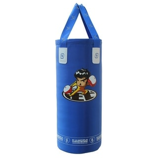 Hang Type Punch Bag for Kids Free Combat Boxing blue