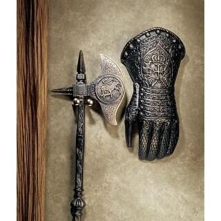 Design Toscano French Gauntlet Iron Sculpture