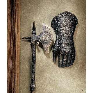 Design Toscano French Gauntlet Iron Sculpture
