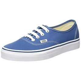 Vans Men's VANS AUTHENTIC SKATE SHOES 6 (NAVY)