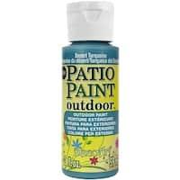 Patio Paint 2oz-Desert Turquoise - Blue