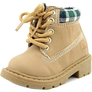 Twinkie Premium Boots Toddler Round Toe Leather Boot