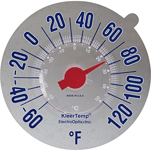 Electrooptix Kt-7 Kleertemp Windowpane Thermometer - Clear. Opens flyout.