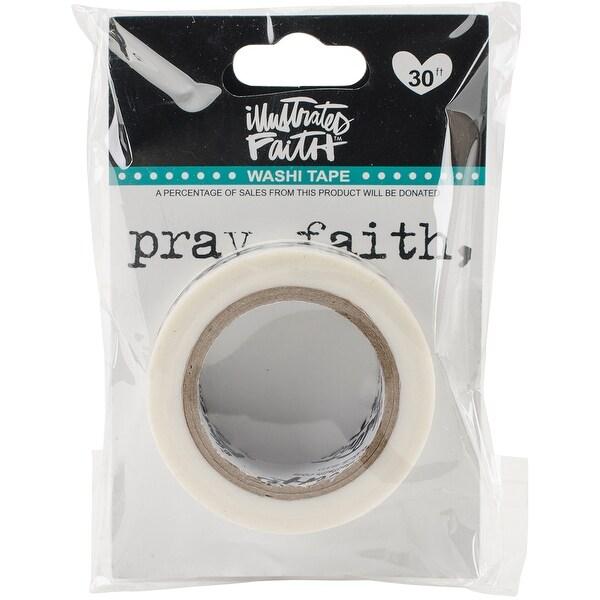 """Illustrated Faith Genesis Washi Tape .6""""X30'-Reminders"""