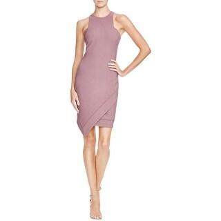 Elizabeth and James Womens Claire Wear to Work Dress Asymmetric Sleeveless