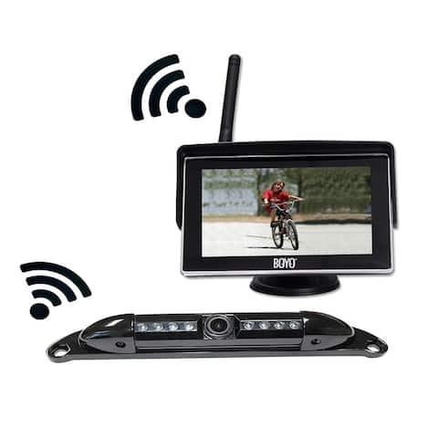 Boyo VTC525R 5 Inch Wireless Monitor and Camera System