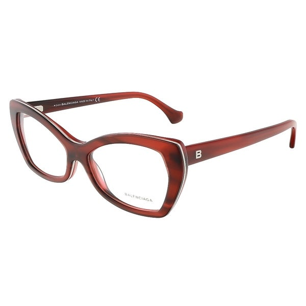 Balenciaga BA5045/V 068 Mahogany Cat Eye prescription-eyewear-frames