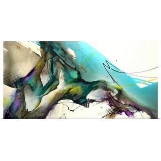 Jonas Gerard Poster Print entitled Trust The Flow - multi-color