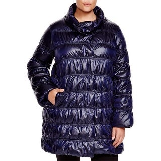 Eileen Fisher Womens Plus Coat Down Quilted